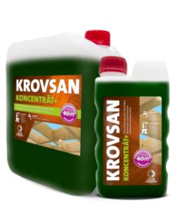 Krovsan KONCENTRÁT + - koncentrát na ochranu dreva zelený 5 l