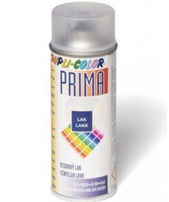 PRIMA - bezfarebný lak v spreji bezfarebný matný 400 ml