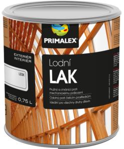 Primalex LODNÝ lak - lak do vlhkého prostredia 5 l bezfarebný pololesklý