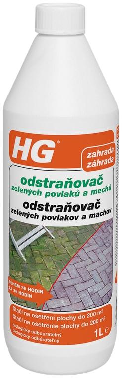 HG Odstraňovač zelených povlakov a machu 1 l 181