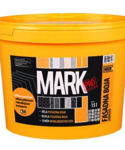 MARK PRO - akrylátová fasádna farba biely 15 l