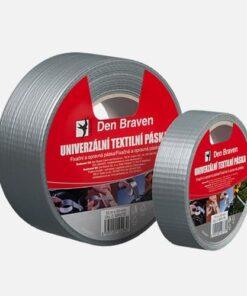 Univerzálna textilná páska strieborná 50mmx50