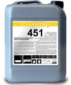 Odvápňovač nerezových plôch - CLEAMEN 451  1