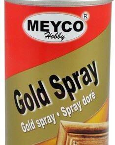 MEYCO SPRAY - Metalický sprej 150 ml zlatý