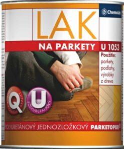 U 1053 Polyuretánový lak na parkety 4 l bezfarebný pololesklý
