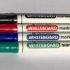 CENTROPEN Popisovač na bielu tabuľu WHITEBOARD Červená