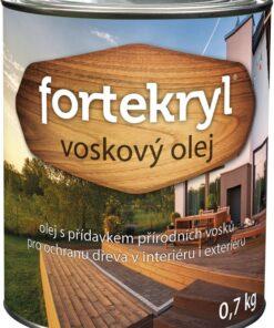 ETERNAL FORTEKRYL voskový olej Teak