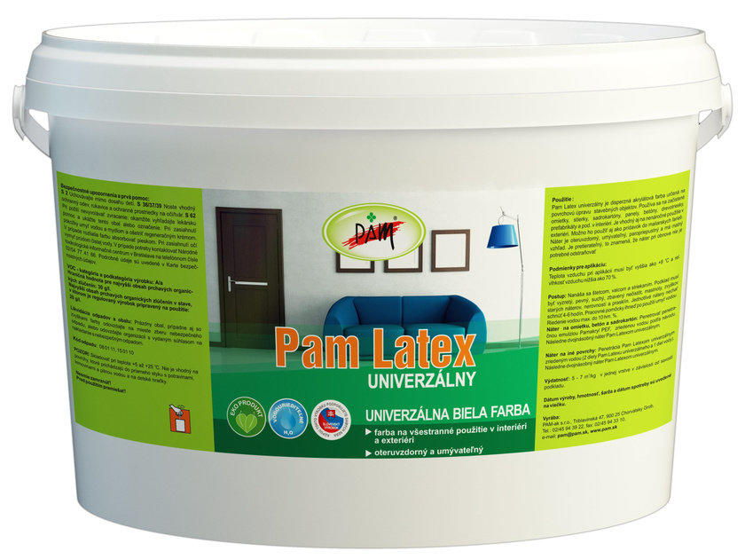 PAM Latex univerzálny Čierna