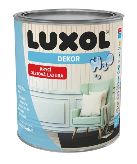 Luxol Dekor Škandinávská biela
