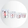 Radex Premium vrchnáky na miešacie kelímky 1400ml