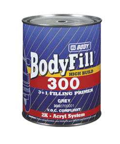 Plnič BodyFill 300 3+1 základný šedý šedá