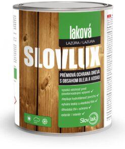 Slovlux laková lazúra na drevo 2