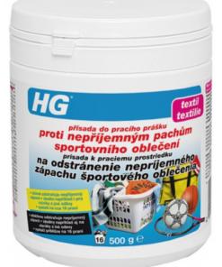 HG133 prísada k praciemu prostriedku na odstránenie nepríjemného zápachu športového oblečenia