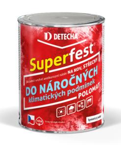 Superfest - farba 2v1 na strechy 20 kg sivý