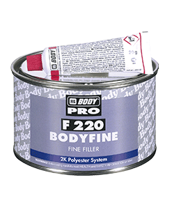 Tmel Body Fine PES jemný 250 ml