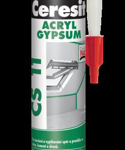 Tmel Ceresit CS 11 - akrylátový tmel biela 280 ml