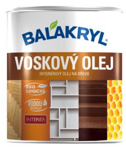 Voskový olej BALAKRYL - interiérový olej na drevo (podlaha