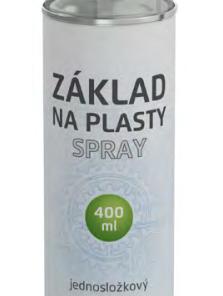 Polykar Základ na plasty sprej 400ml